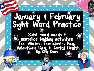New Sight Word Pack on TPT!
