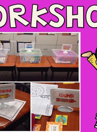 Fun with Workshop! Spelling Stampers & Dice Math