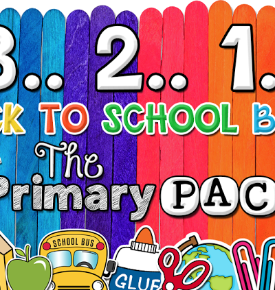 321… Back to School Bash with The Primary Pack!