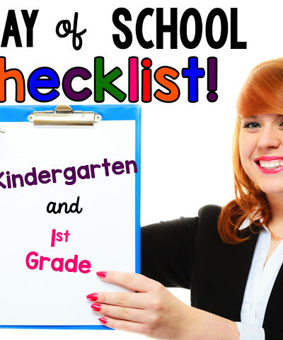 "First Day of School- a ""Working"" Checklist!- A Plus Images T-shirt!"