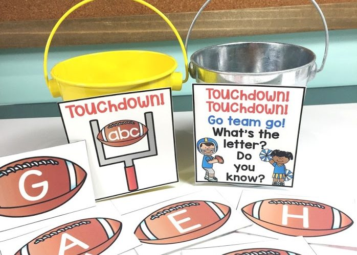 Alphabet Football Fun!
