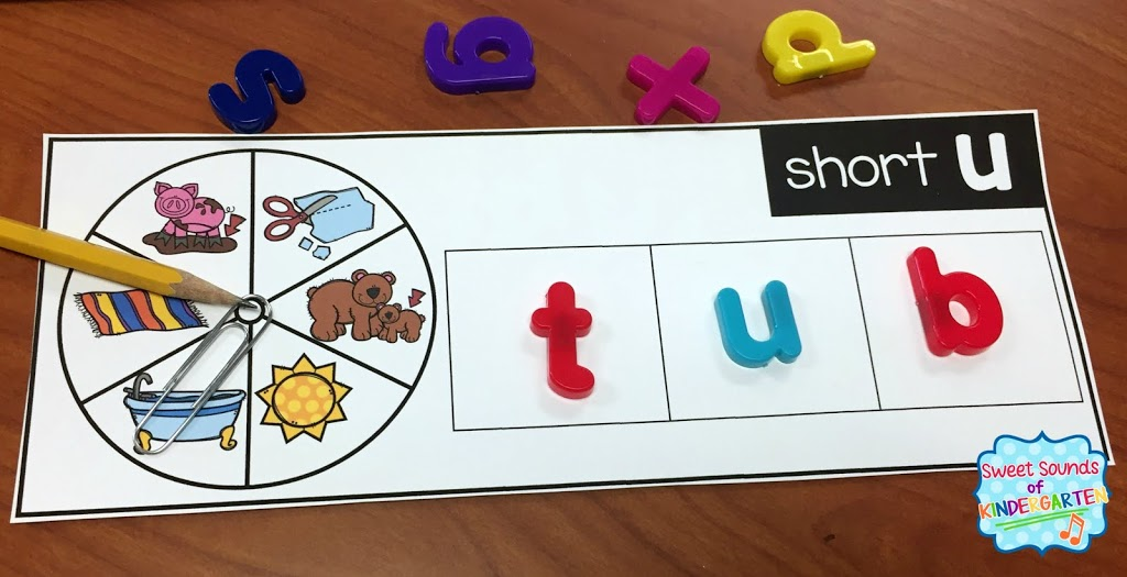 Cvc Word Spinners Magnet Letters