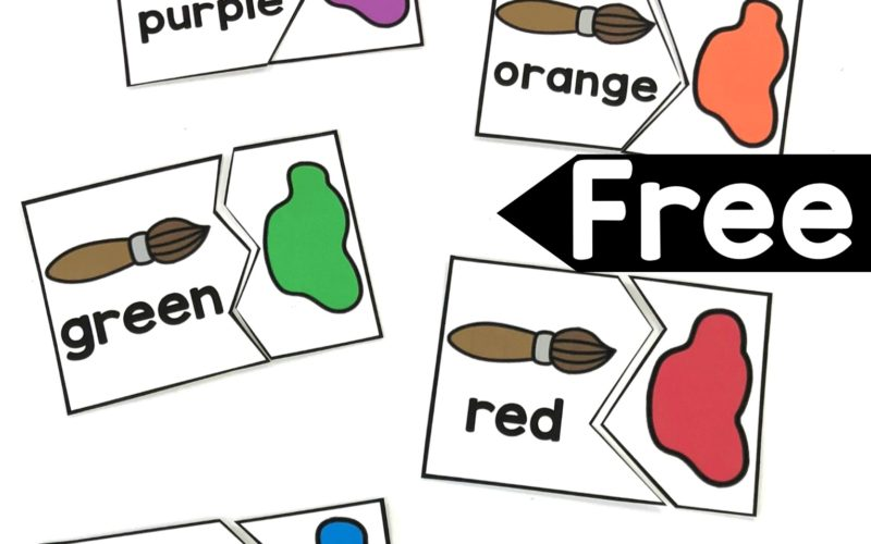 Color Words Matching Puzzles
